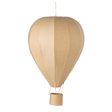 Paper Mache Hot Air Balloon: 17 inches - Toy Hot Air Balloon