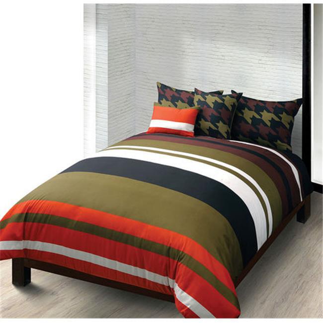 Macbeth 36046 Military Stripe Twin 5 Piece Comforter Set