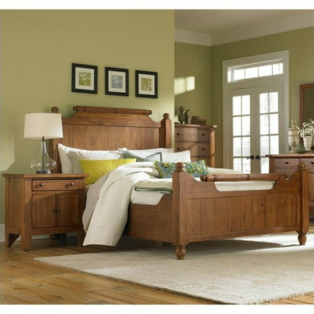 Broyhill Attic Heirlooms Feather Bed 2 Piece Bedroom Set Walmart Com