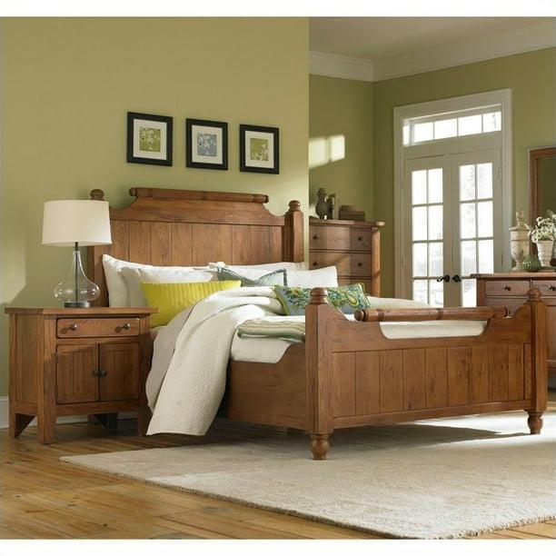 Broyhill Attic Heirlooms Feather Bed 2 Piece Bedroom Set Walmart Com Walmart Com