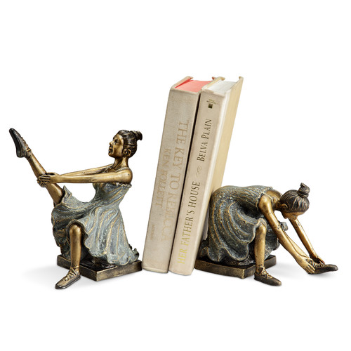 SPI Home Ballerina Students Book Ends (Set of 2)