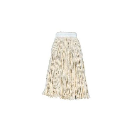 Boardwalk Cut-End White Cotton Wet Mop Head, Size 24