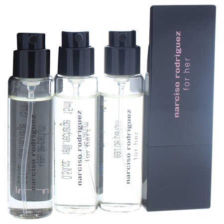 Parfum Miniature - Narciso Rodriguez Narciso Rodriguez Miniature Set 4 x 0.5oz Eau De Parfum Spray (Refills), Purse Spray 5 Pc Mini Gift Set