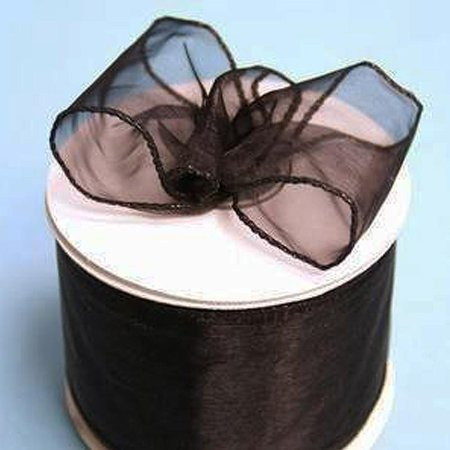 (Efavormart Multiple Colors Wedding Banquet Party Event Arts & Crafts DIY Supplies Wired Organza Ribbon 2 1/2