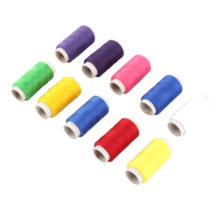 Needlework Polyester Handcraft Clothes Quilt Thread Spool Assorted Col