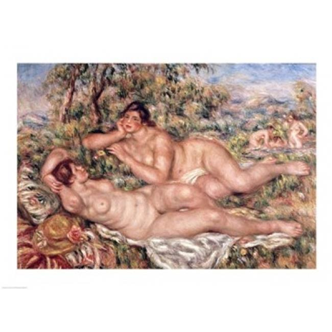 Posterazzi BALBAL413LARGE The Bathers Poster Print by Pierre-Auguste Renoir - 36 x 24 in. - Large - image 1 of 1