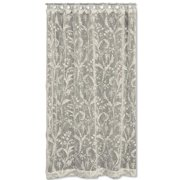 Heritage Lace Coventry Nature/Floral Semi-Sheer Rod Pocket Single Curtain Panel