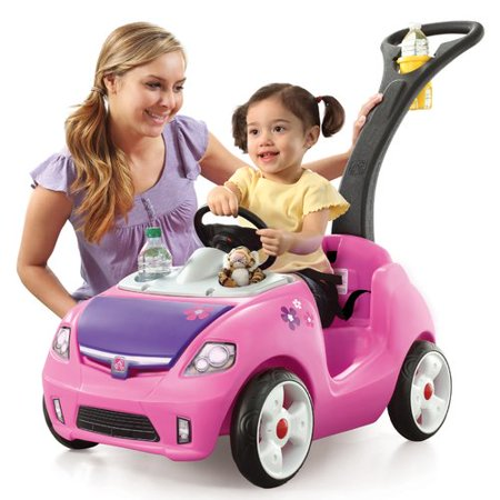 Pink Pouch - Step2 Whisper Ride II Push Car