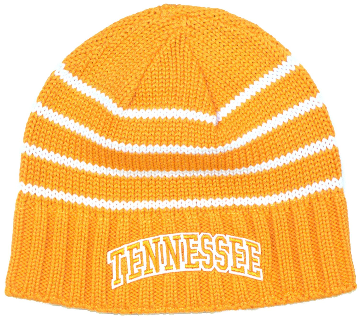 Bama - NCAA Officially Licensed Tennessee Volunteers Embroidered Team  Striped Fleece Lined Beanie Hat Cap Lid Toque - Walmart.com 97aeb091387