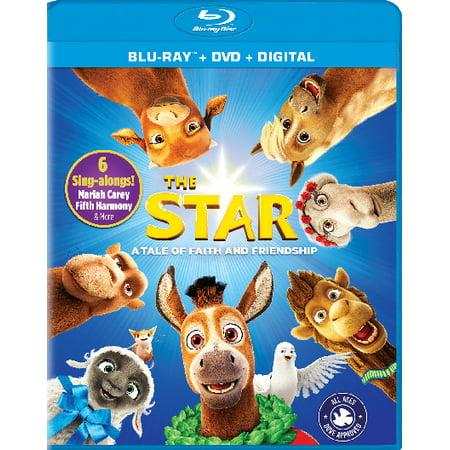 The Star (Blu-ray + DVD + Digital) (VUDU Instawatch Included)