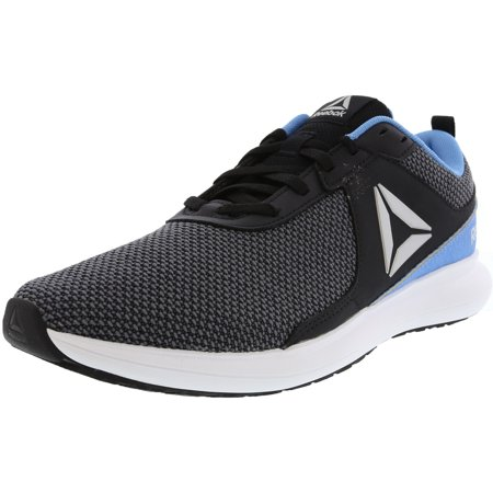 Reebok Women's Driftium Black / Blue White Silver Porcelain Ankle-High Mesh Running - 10M