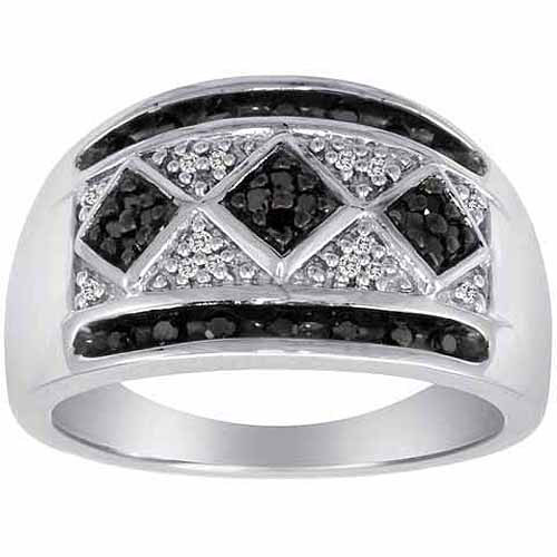 1/4 Carat T.W. Diamond Sterling Silver Fashion Ring