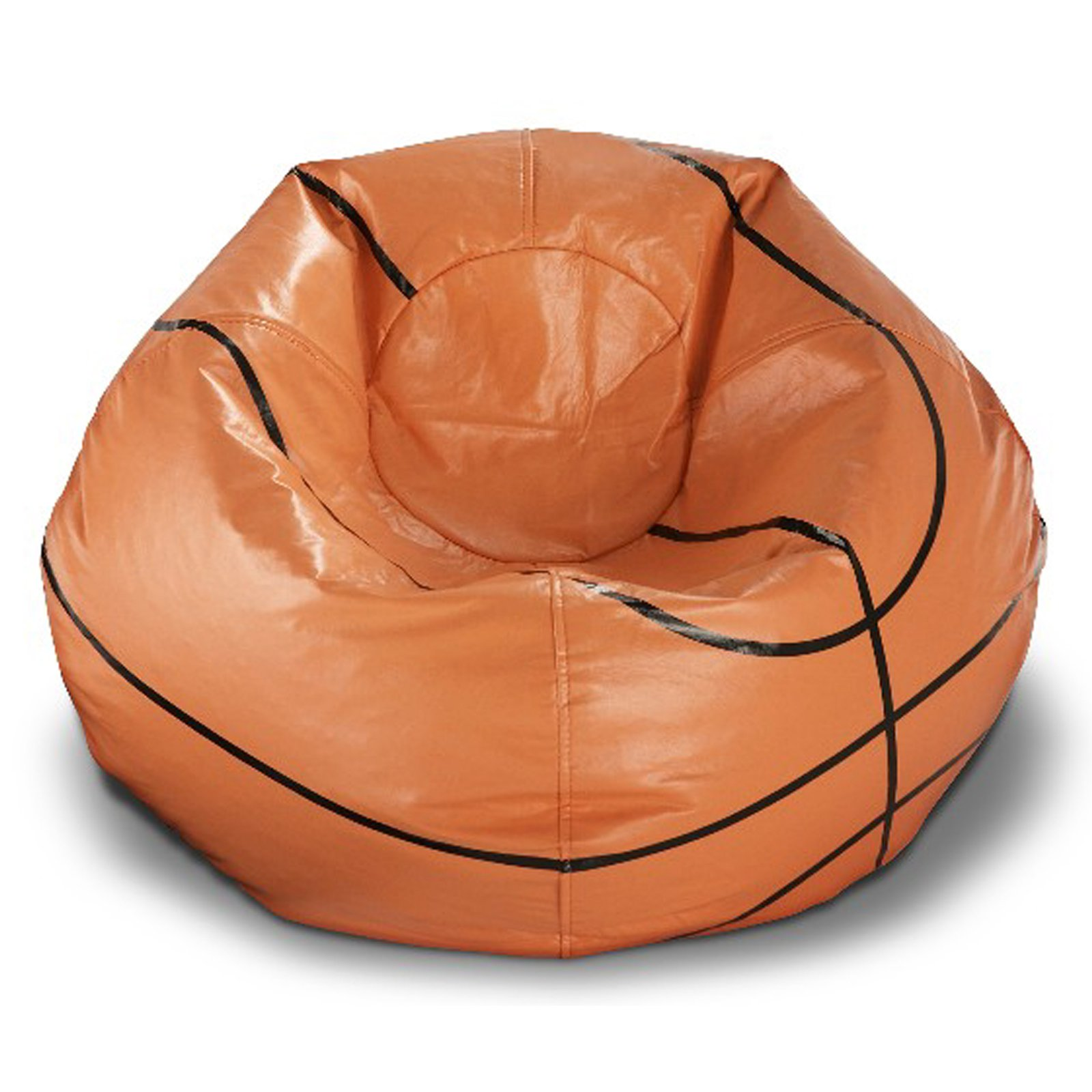 "X Rocker 96"" Round Vinyl Bean Bag, Basketball"