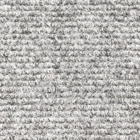 Indoor/Outdoor Carpet with Rubber Marine Backing - Light Gray 6\' x ...