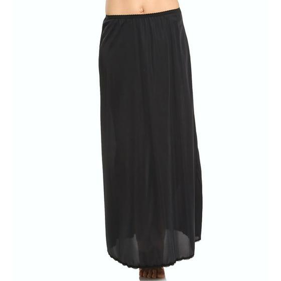 5ddb28f0222 Shadowline - Women s Shadowline 4711638 38 Inch Long Flare Half Slip -  Walmart.com
