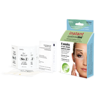 Godefroy Instant Eyebrow Tint, 3 application kit, Light Brown