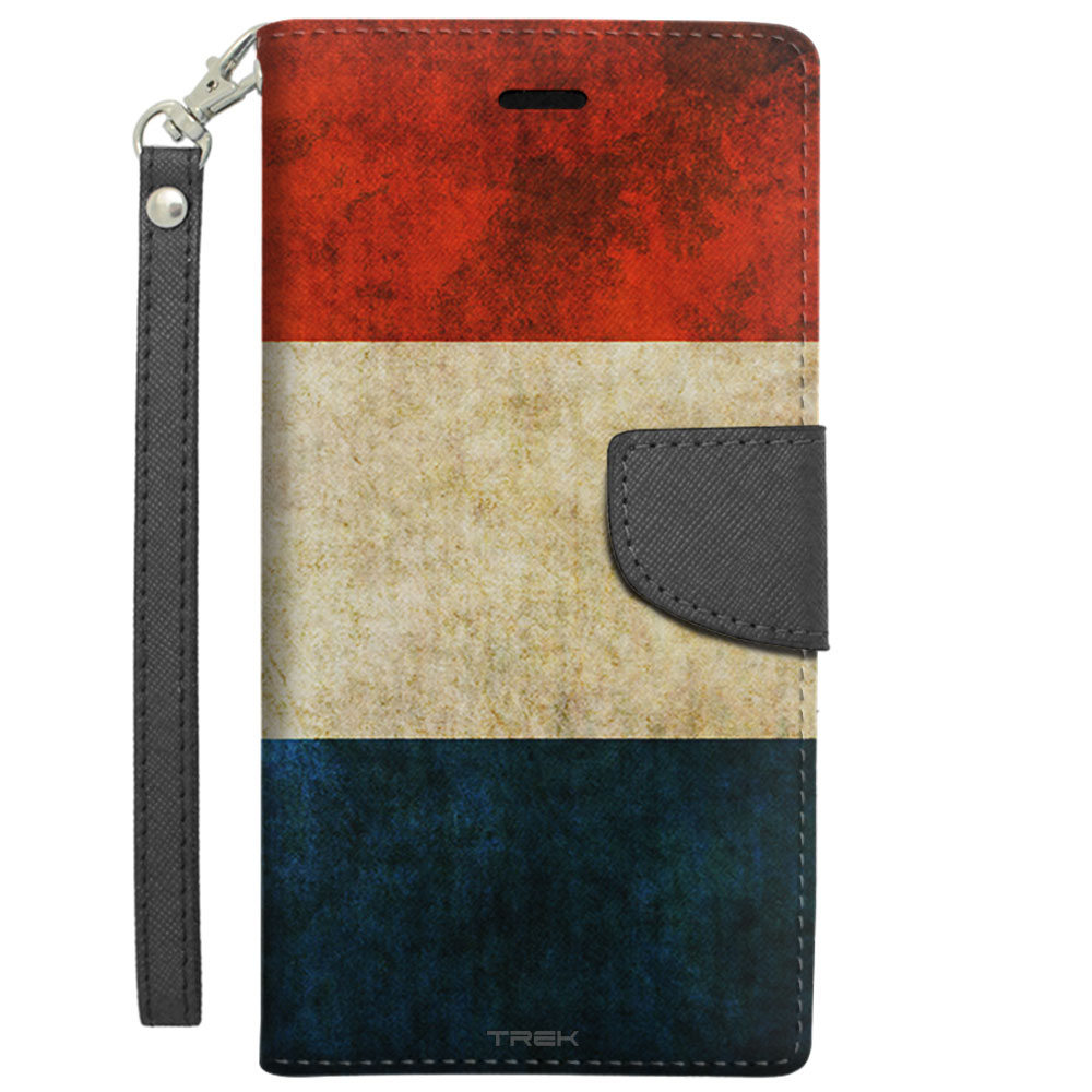 Apple iPhone 6 Plus Wallet Case Vintage Dutch Flag by Trek Media Group