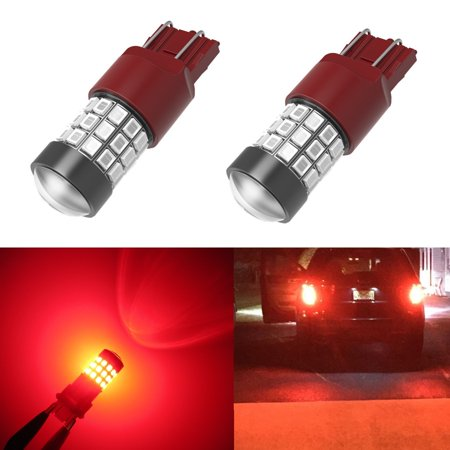 Alla Lighting Super Bright 2835 39-SMD 7443 7440 7440NA 7444NA LED Bulbs for Turn Signal Brake Stop Back-up Reverse Light Lamps Replacement