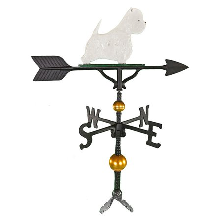 Deluxe Color West highland White Terrier Weathervane - 32 in.