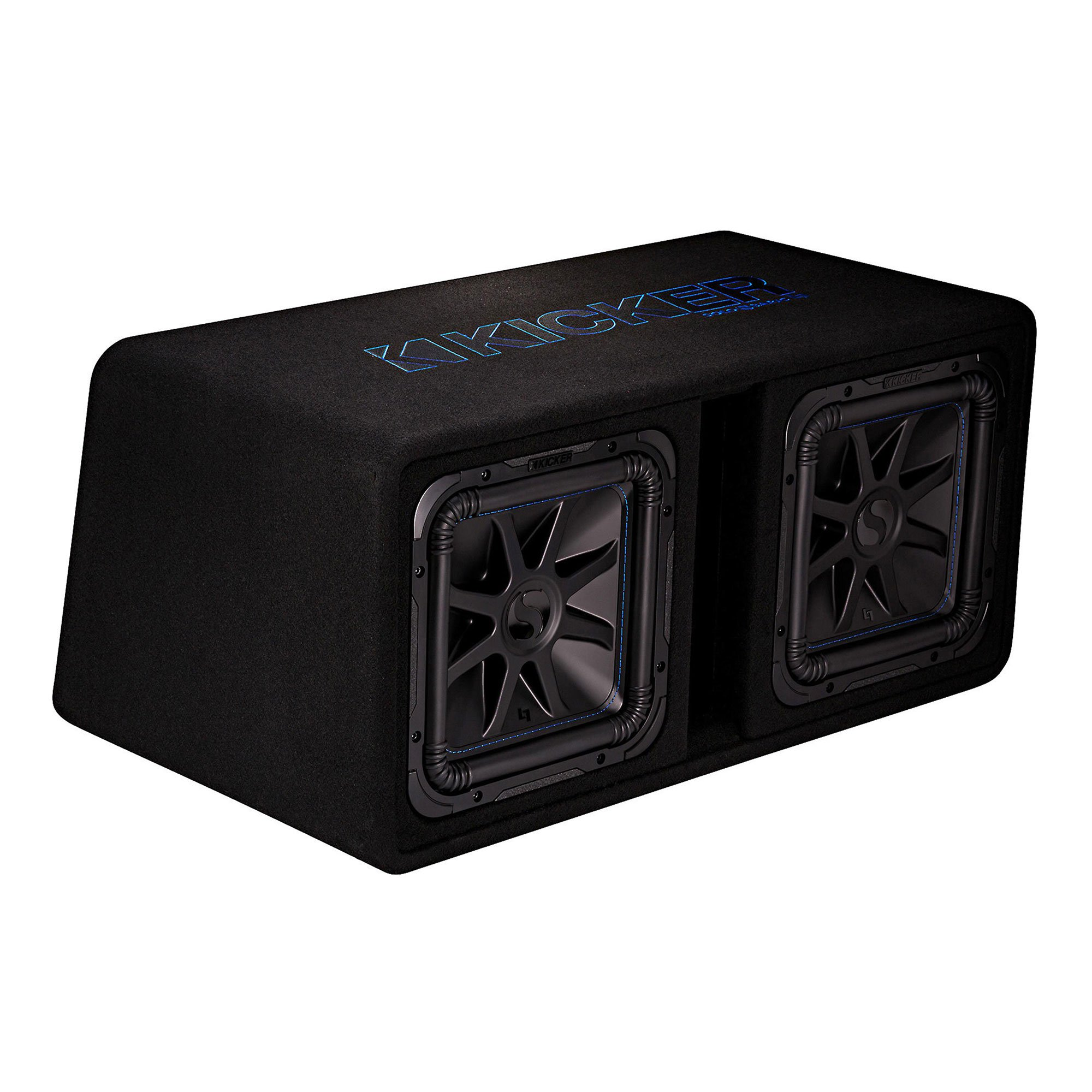 "Kicker 12"" 3000W Dual Loaded Solo-Baric L7S Subwoofer Enclosure 