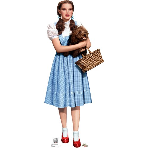 Wizard Of Oz Dorothy Cardboard Standup (Each) - Party Supplies