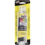 Tulip Color Shot Instant Fabric Color Spray 3oz-Lemonade