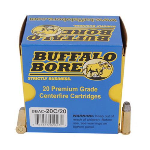 Buffalo Bore Centerfire Handgun Ammo - .38 Special - 158 ...