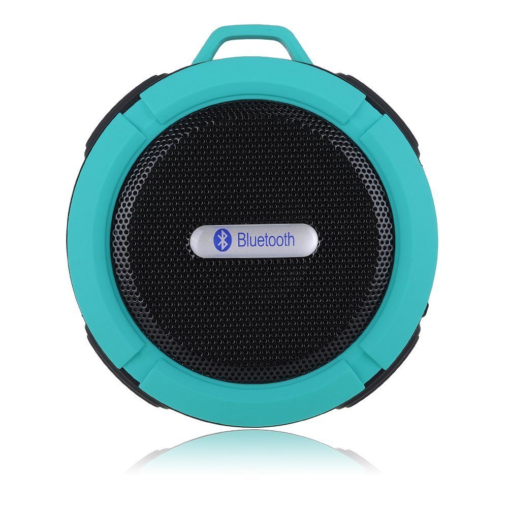VicTsing Bluetooth Shower Speaker _C_Style_Light Blue_