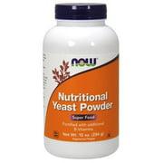 Nutritional Yeast Powder Now Foods 10 oz Powder