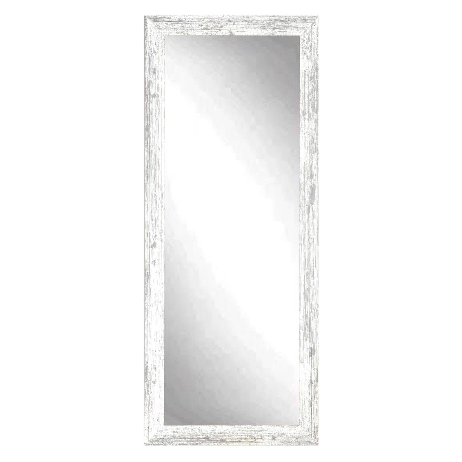 BrandtWorks American Barnwood Leaning Floor Mirror