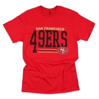 dd53c18b4 Product Image San Francisco 49ers Football NFL Men s Fundamentals Logo T- Shirt Top Tee