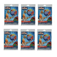 """Party Favors Licensed Marvel Spiderman Inflatable Beach Ball 20""""-6 Pack"""