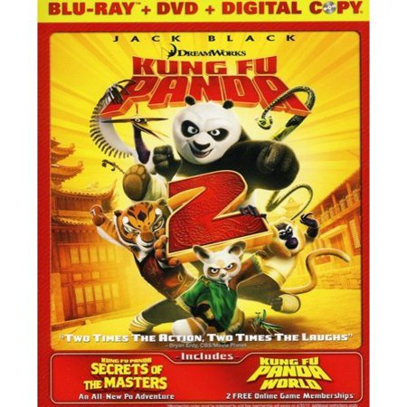 Kung Fu Panda 2 (Blu-ray + DVD)