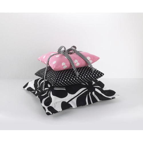 Cotton Tale Girly 3 Piece Throw Pillow Set