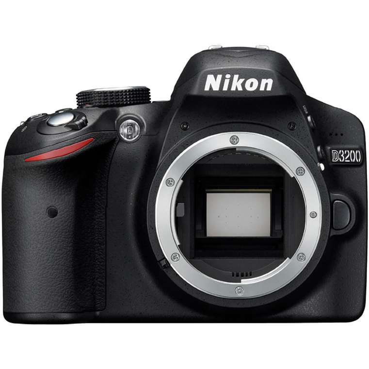 Nikon D3200 24.2 MP DX CMOS Digital SLR Camera Body Only ...