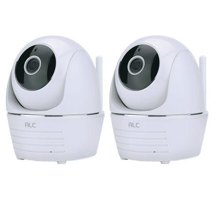2 Pack ALC AWF23 1080P Full HD Pan & Tilt Wi-Fi Camera