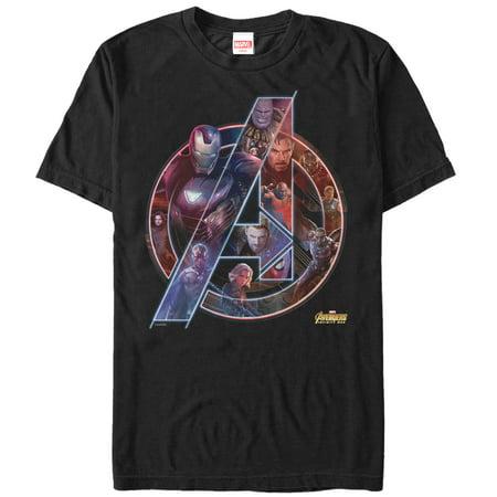 Infinity T-shirt - Marvel Men's Avengers: Infinity War Logo T-Shirt