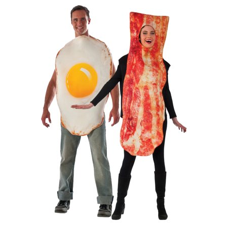 Adult Bacon and Egg Costume Set (Adult Egg Costume)