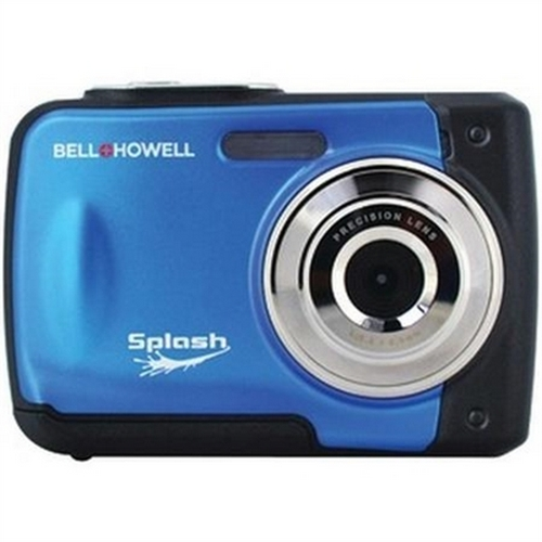 Refurbished Bell+Howell Splash WP10-BL 12.0 Megapixel Waterproof Digital Camera with 2.4-Inch LCD (Blue)