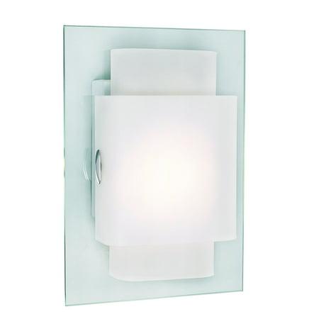 Trans Globe Lighting Polished Chrome Wall Sconce w/ 1 Light 23W - PL-MDN-844