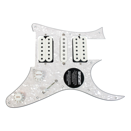 Ibanez Montage (Loaded Pickguard Ibanez JEM DiMarzio Evolution DP159 DP158 CTS CRL Gavitt)