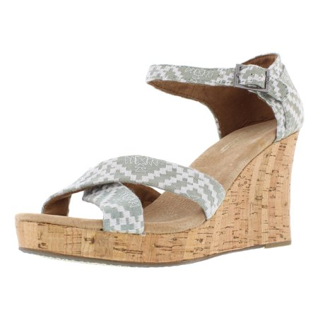 Toms Strappy Wedges Women's Shoes](Desert Wedges Toms)