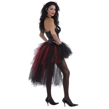 Burlesque Halloween Hair (VAMPIRESS BURLESQUE TUTU)