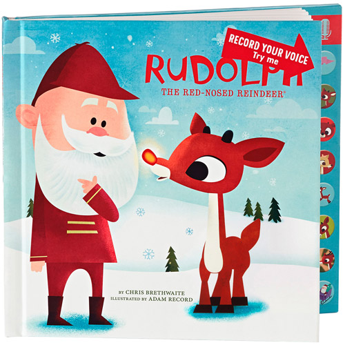 Hallmark Press and Play Recordable Storybook: Rudolph the Red-Nosed Reindeer