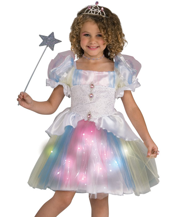 Girls Rainbow Skirt Cute Ballerina Princess Dress Kids Halloween Costume S  sc 1 st  Walmart & Girls Rainbow Skirt Cute Ballerina Princess Dress Kids Halloween ...