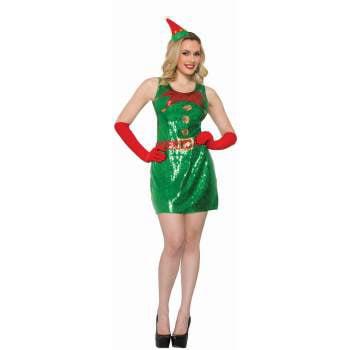 CO-SEQUIN ELF DRESS-M/L - Elf Dress