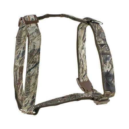 Mossy Oak Basic Dog Harness, Duck Blind, Medium- XSDP -22857-05 - The Mossy Oak Basic Dog Harness is a perfect choice for dogs while out in the field, in the water, or relaxing at home. This stur