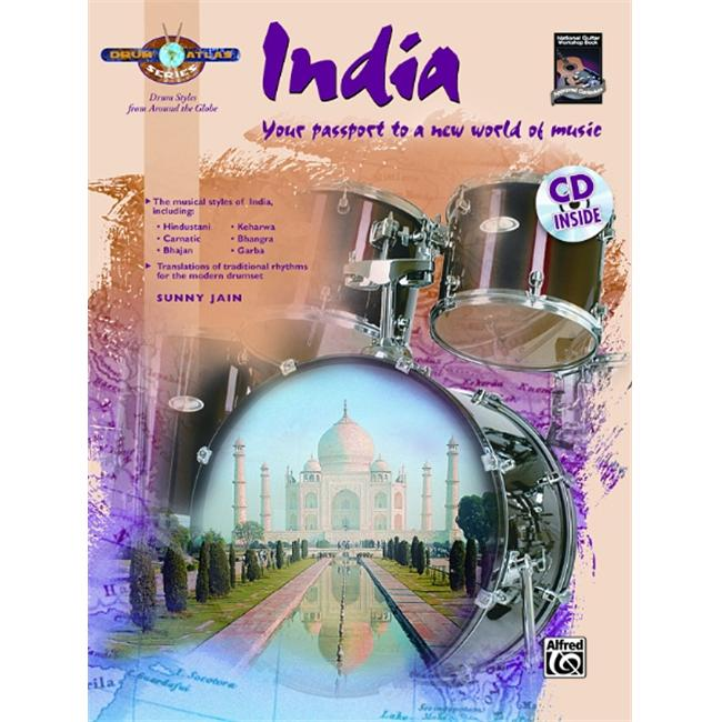 Alfred 00-30315 Drum Atlas- India - Music Book