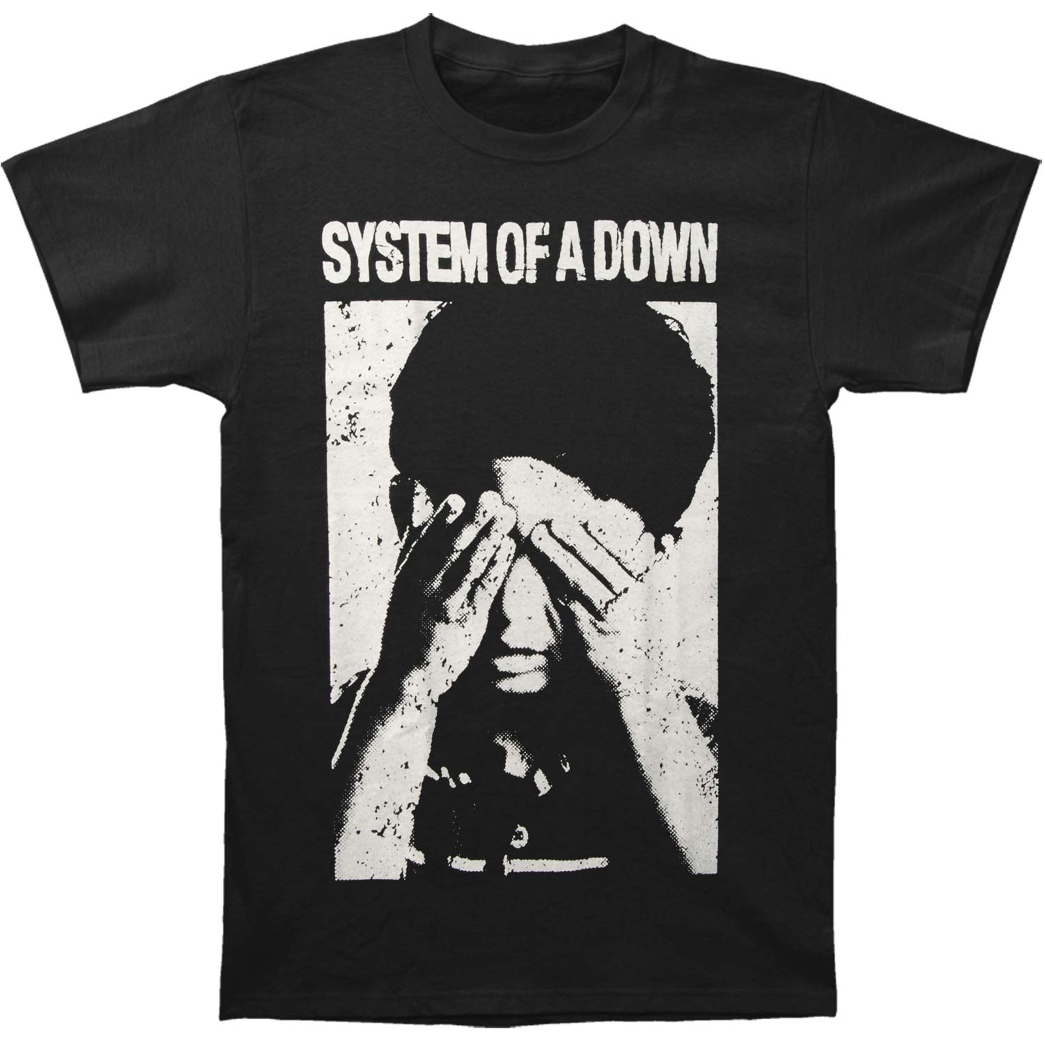 System Of A Down Men's  See No Evil T-shirt Black