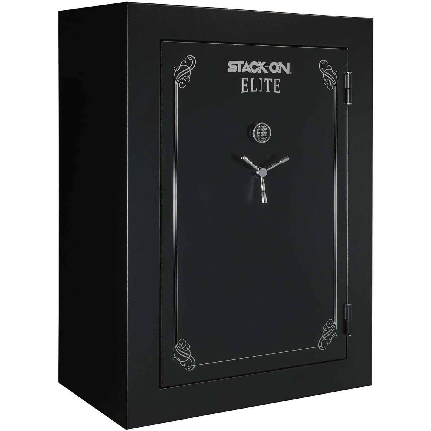 "Click here to buy Stack-On 90-Gun Elite Safe with Electronic Lock and Door Storage, 72"" Tall by Generic."